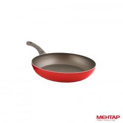 Poêle téflon rouge de diamètre 22 cm - Mehtap MT22
