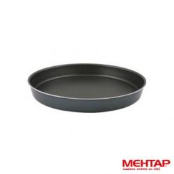 Plat à four téflon noir rond diamètre 34 cm - Mehtap YUT-34