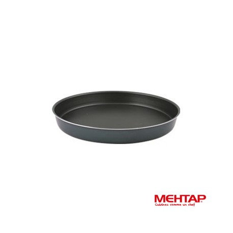 Plat à four téflon noir diamètre 34 cm - Mehtap YUT-34
