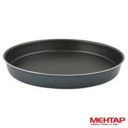 Plat à four téflon noir rond diamètre 38 cm - Mehtap YUT-38