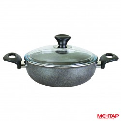 Mijoteuse téflon granite de diamètre 28 cm - Mehtap KGST28