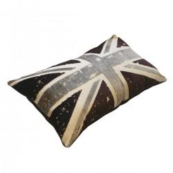Coussin design UK couleur violet 62 cm * 35 cm
