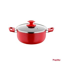 Faitout téflon rouge diamètre 24 cm – Papilla RE.C.24