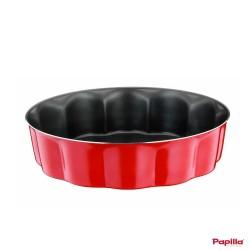 Moule à cake téflon Sliced rouge Redio - Papilla RE.CAKE.12