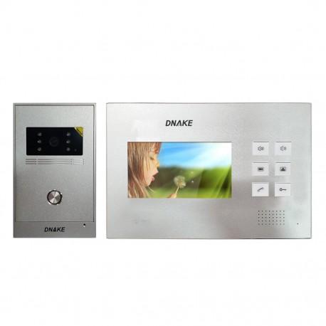 """Vidéophone avec écran 4.5""""- Dnake-C5PB-I2S"""