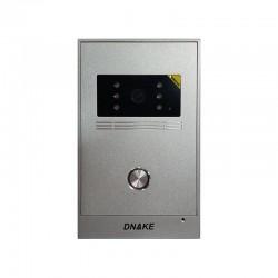 Plaque de rue Gris en inox pour vidéophone - Dnake-C5PB