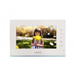"""Ecran couleur 7"""" avec bordure bleu pour vidéophone -Dnake-G8"""