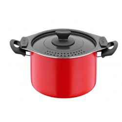 Spaghetti casserole 20 cm couleur rouge