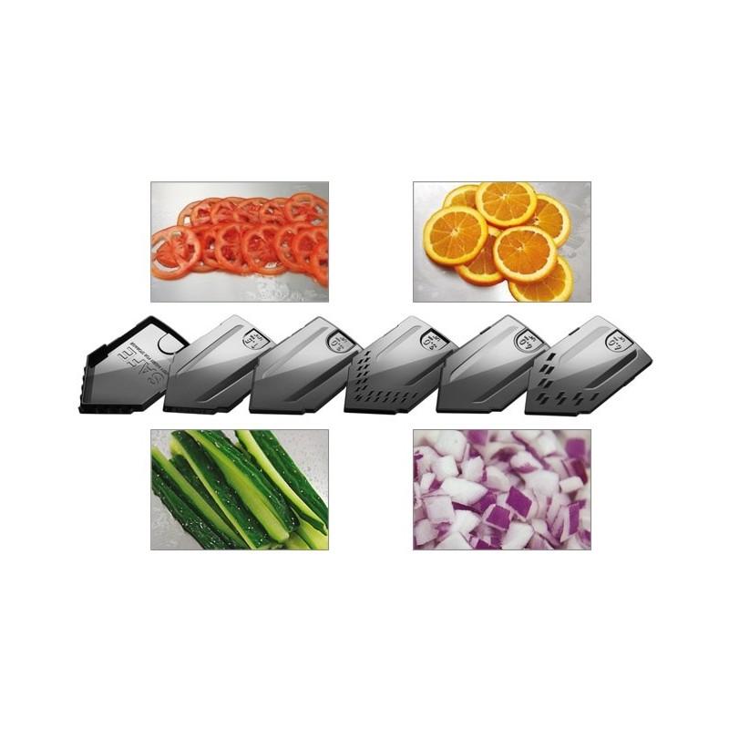 Mandoline en v appareil de d coupe l gumes et des - Decoupe legumes coupe legumes oignons et fruits ...