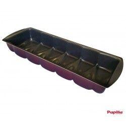 Moule à cake téflon Eiffel violet Magenta - Papilla MGN.CAKE.EYF