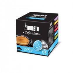 Boîte de 16 capsules café Napoli - Bialetti