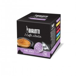 Boîte de 16 capsules café Milano - Bialetti