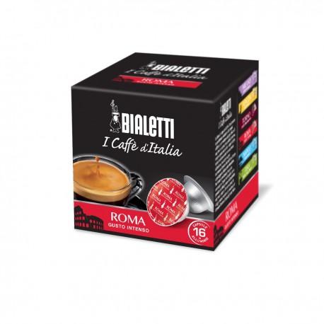 Boîte de 16 capsules café Roma - Bialetti