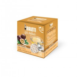 Boîte de 12 capsules thé fruit de la passion infusion - Bialetti