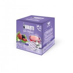 Boîte de 12 capsules thé fruits de bois Infusion - Bialetti