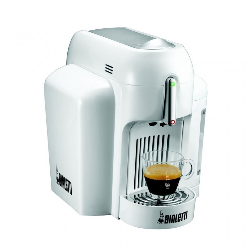 mini cafeti re express capsules blanc bialetti. Black Bedroom Furniture Sets. Home Design Ideas