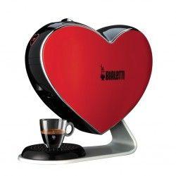 Machine à café et thé à capsules - Bialetti Cuore Rouge