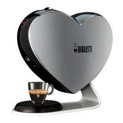 Machine à café et thé à capsules - Bialetti Cuore Gris