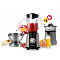 Pack Sliver 3 en 1 : Blender + Press agrume + Balance de cuisine