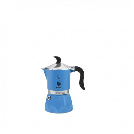 Cafetière express en aluminium 3 Tasses - Bleu - Bialetti Fiammetta