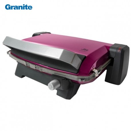 Granite Grille sandwich maker 6 pieces rose - 1800 Watts - Blue House