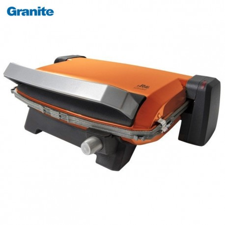 Granite Grille sandwich maker 6 pieces Orange - 1800 Watts - Blue House