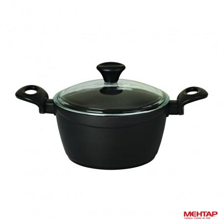 Faitout céramique noir diamètre 24 cm - Mehtap