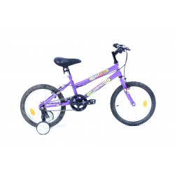 Bicyclette VTT 16 pouces eco fille - Rodeo-6016 PF