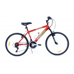 Bicyclette VTT 24 pouces MOUNTAIN EDGE - Rodeo-6024 18GS