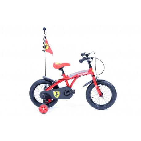 Vélo enfant ferrari 14 pouces - Rodeo-FE14