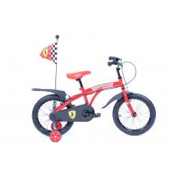 Bicyclette enfant ferrari 16 pouces - Rodeo-FE16