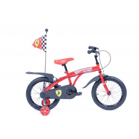 Vélo enfant ferrari 16 pouces - Rodeo-FE16