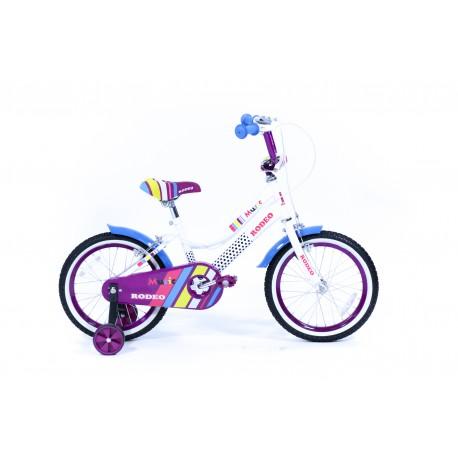 Vélo enfant music 16 pouces - Rodeo-MU16