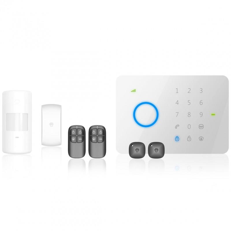 kit syst me d 39 alarme gsm sans fil prix pas cher. Black Bedroom Furniture Sets. Home Design Ideas