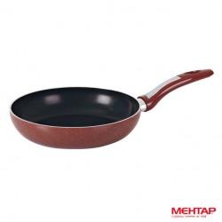 Poêle téflon rouge Hardena de diamètre 32 cm - Mehtap HT32