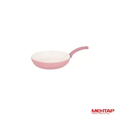 Mehtap SRT20 - Poêle céramique rose Diamètre 20 cm