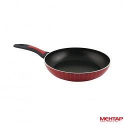 Poêle téflon rouge de diamètre 28 cm - Mehtap NT28