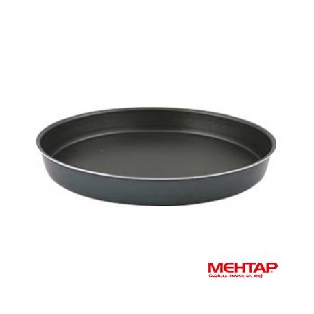 Plat à four téflon noir diamètre 38 cm - Mehtap YUT-38