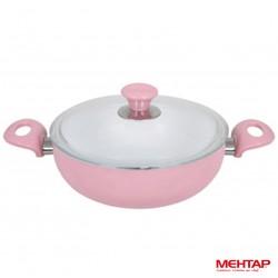 Mijoteuse céramique rose de diamètre 26 cm - Mehtap SRST26
