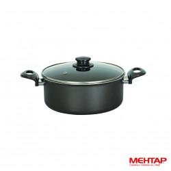 Faitout téflon noir de diamètre 26 cm - Mehtap ODT26