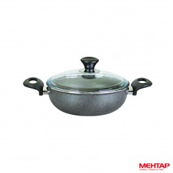 Mijoteuse téflon granite de diamètre 26 cm - Mehtap KGST26