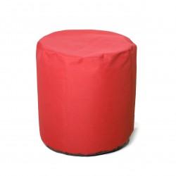 Pouf cylindrique en toile petit modèle
