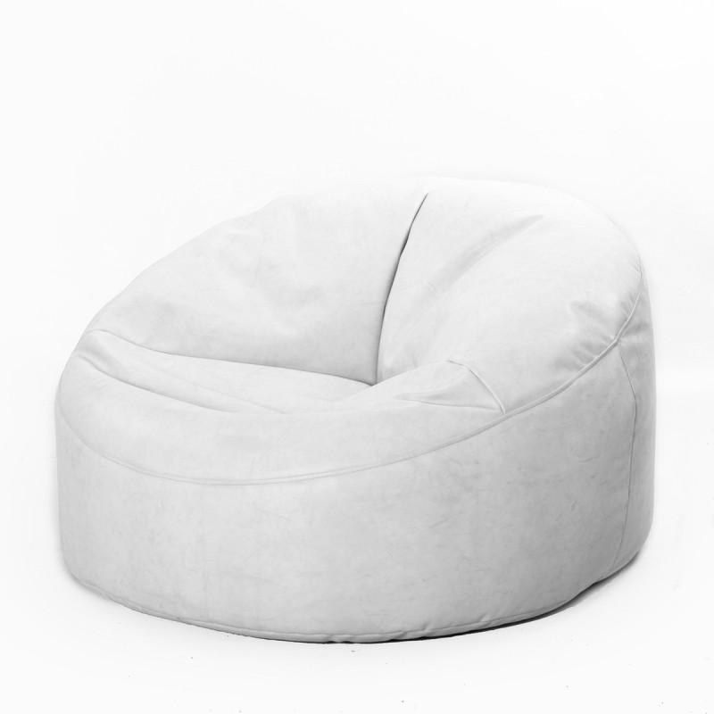 pouf cosy en simili cuir grand mod le. Black Bedroom Furniture Sets. Home Design Ideas