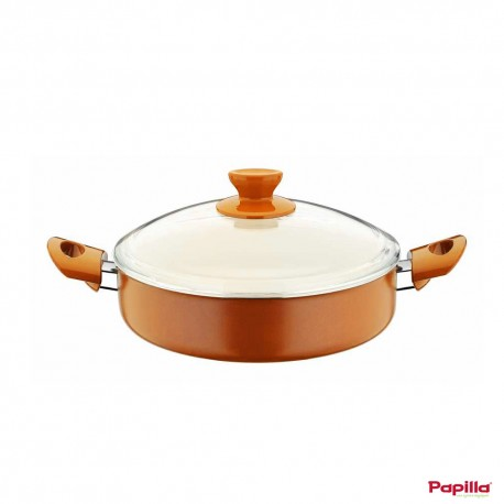 Mijoteuse céramique orange diamètre 26 cm - Papilla LTN.FC.26