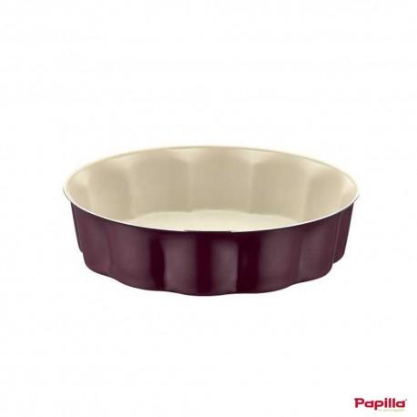 Sliced moule à cake téflon violet - Papilla MGN.CAKE.12