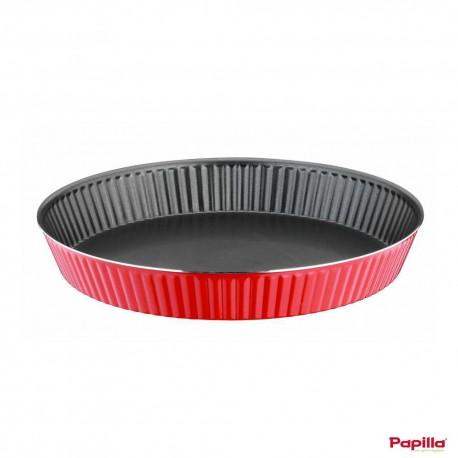 Tart moule à cake téflon rouge - Papilla RE.CAKE.TA