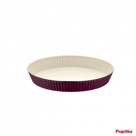 Tart moule à cake téflon violet - Papilla MGN.CAKE.TA