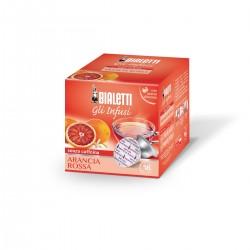 Boîte de 12 capsules thé infusion Orange - Bialetti