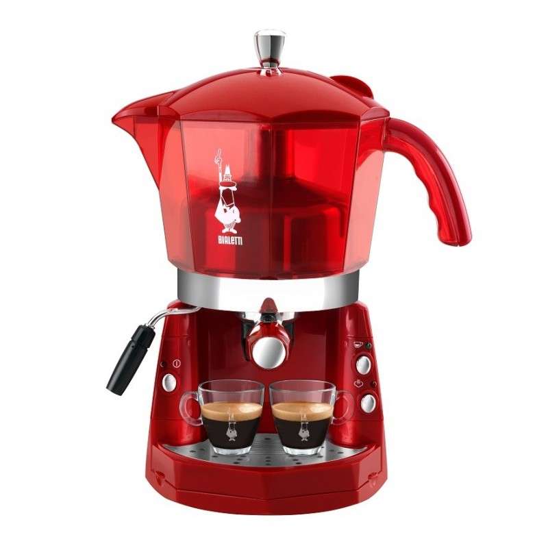 cafeti re lectrique capsule rouge mokona bialetti. Black Bedroom Furniture Sets. Home Design Ideas