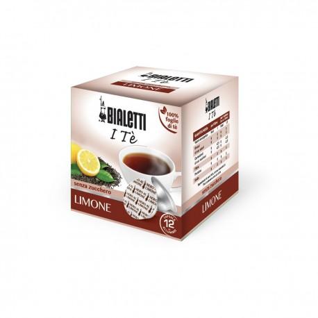 Boîte de 12 capsules thé noir infusion Citron - Bialetti